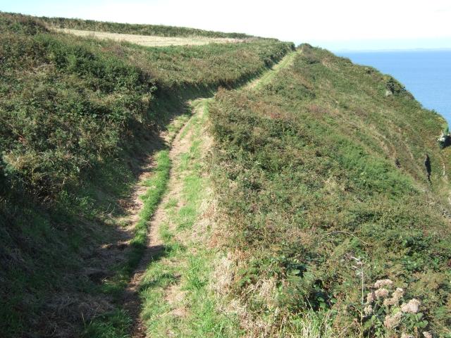 Coast path near Holywell
