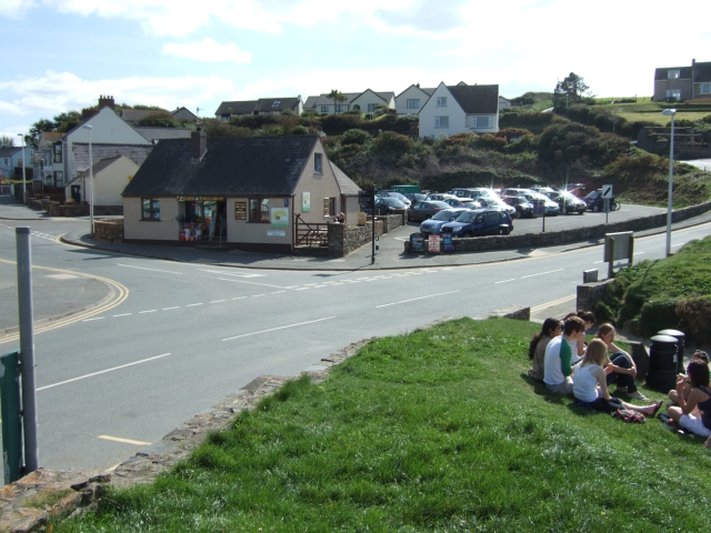 Car park in Broad Haven