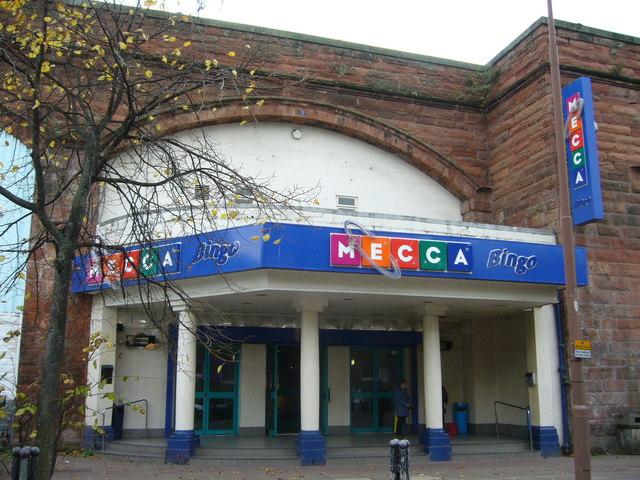 Mecca Bingo Hall, Manderston Street
