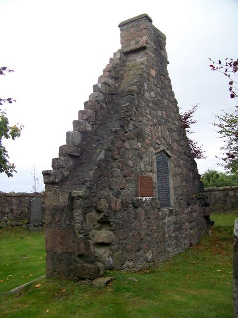 Remains of Glen Tanar Church