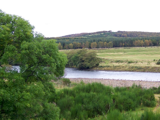 River Dee from Glen Tanar Church