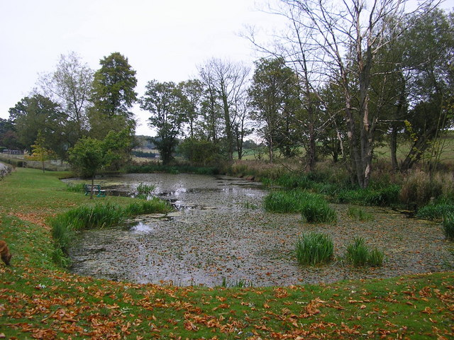 Pond Near Stocken Hall
