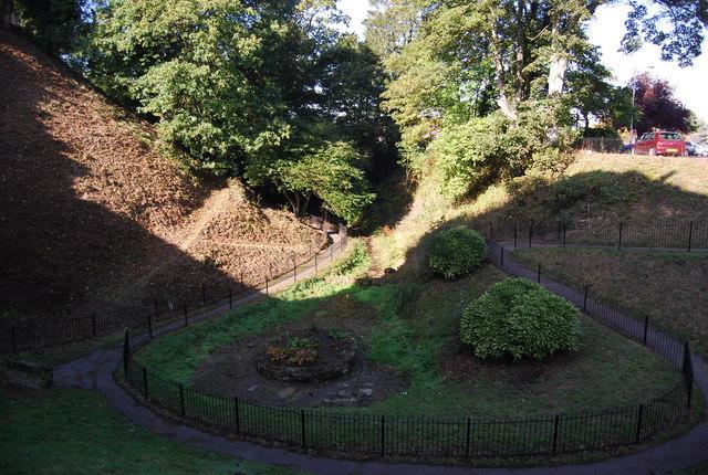 The Moat, Tonbridge Castle