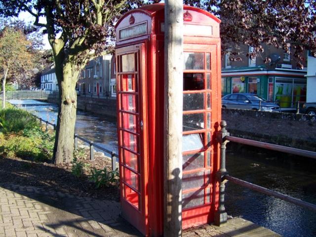 Telephone box, Alyth