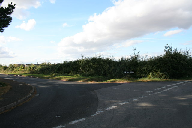 Junction of New Road and Mount Owen Road, Bampton