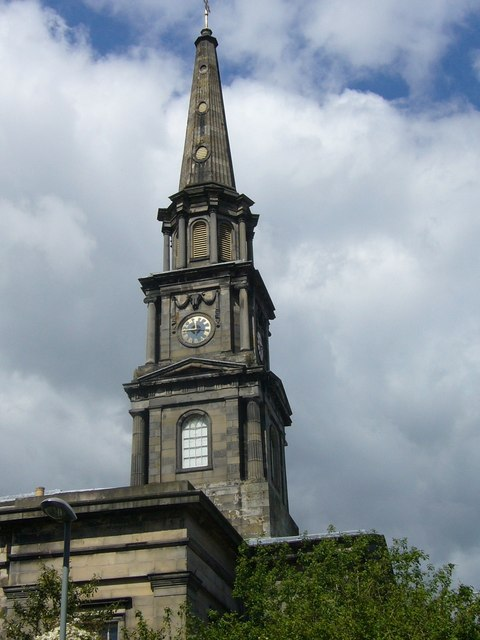 North Leith Parish Church steeple