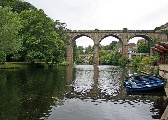 Railway Viaduct over River Nidd, Knaresborough