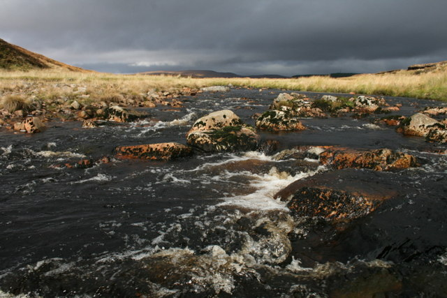 The Tirry - a typical energetic Highland river