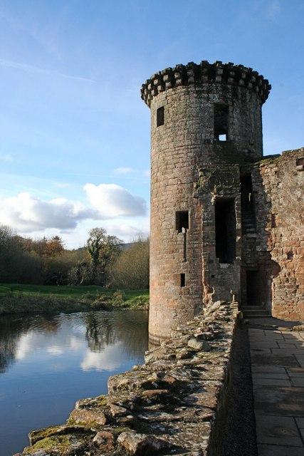 Tower, Caerlaverock Castle