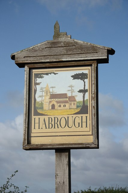 Habrough village sign