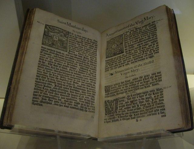 Anglican Prayer-Book, Royal Scottish Museum, Chambers Street