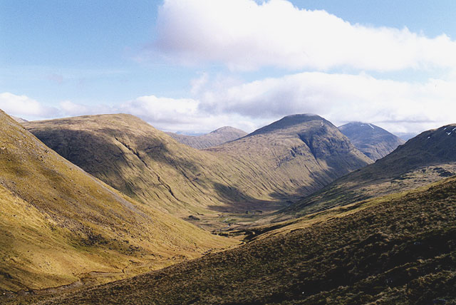 View south down the Allt an Lòin