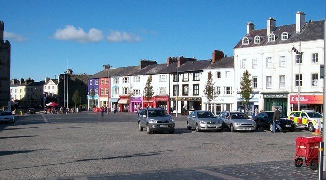 Y Maes on a Sunny Autumn Day