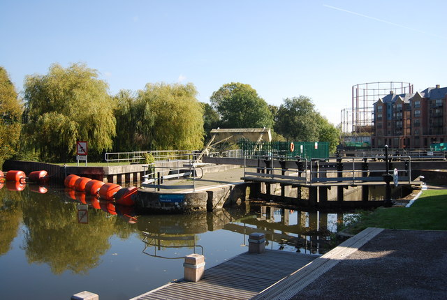 Town Lock, Tonbridge