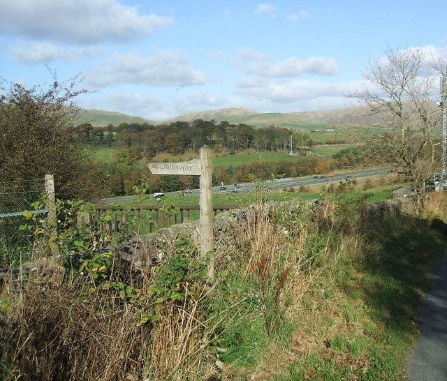 Dalesway and motorway