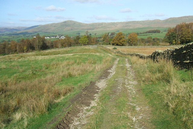 Track from Lambrigg Fell