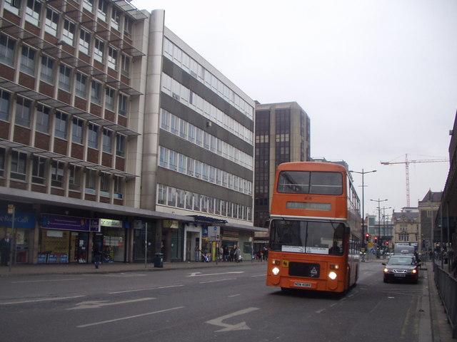 Bus Farewell in Wood Street