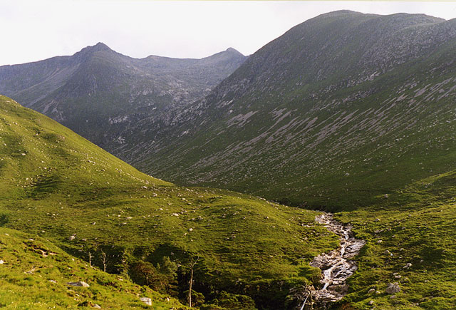 View towards Ben Starav