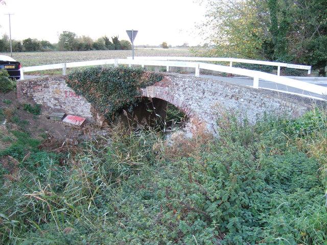 A humpback bridge, Fendyke Lane, Gorefield