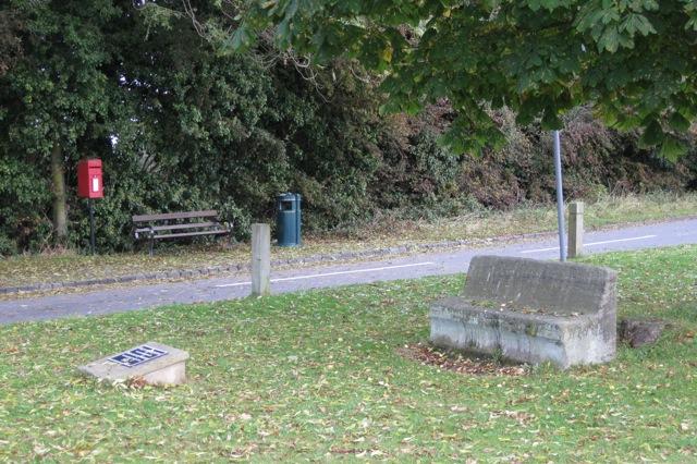 Village green and roadside, Old Milverton
