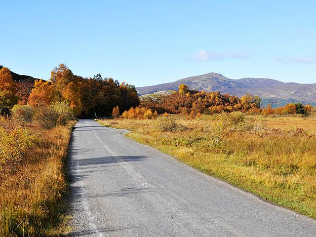 Minor road near Loch an Dàim