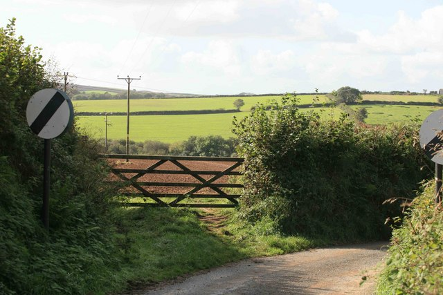 View through the gateway
