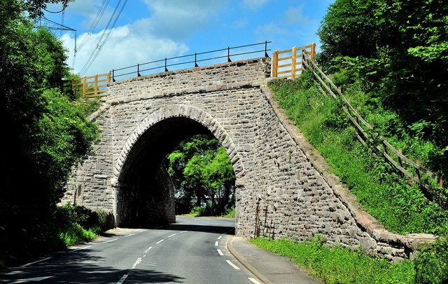 Llanfoist Railway Bridge