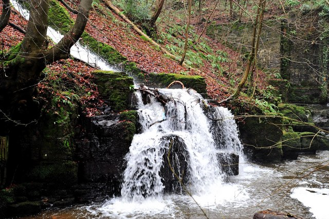 Waterfall near Gilwern