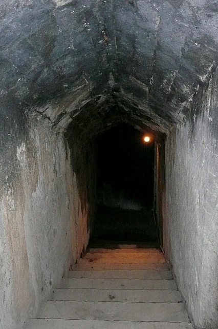 Entrance to the Sally Port