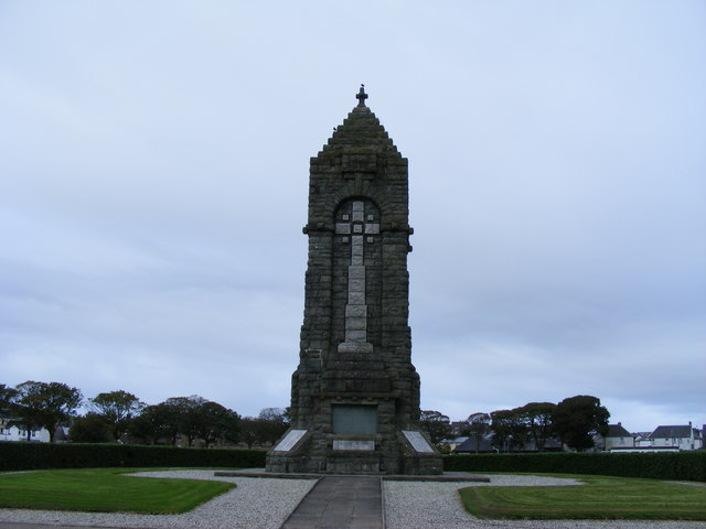 War Memorial at Campbeltown