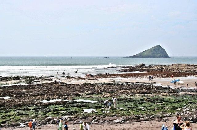 Wembury Beach, Low Tide
