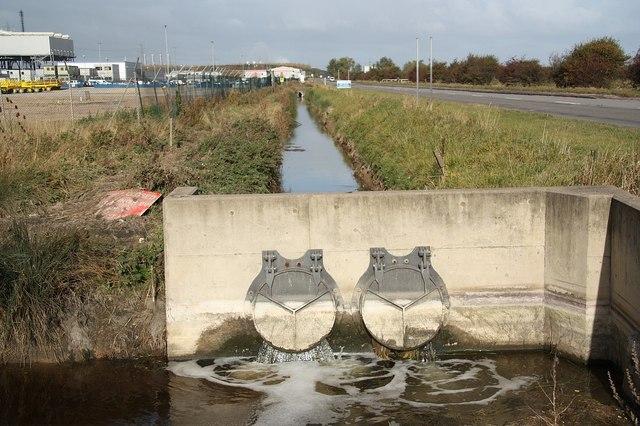 Rosper Road drain