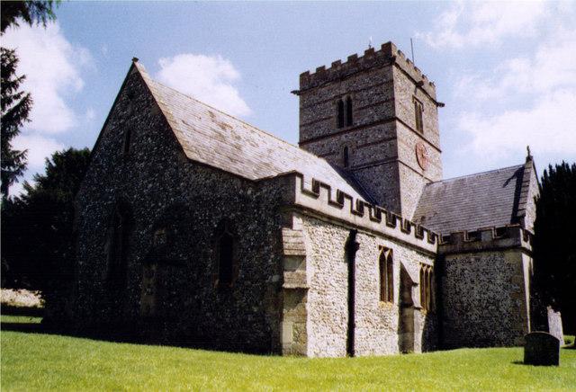 All Saints, East Garston