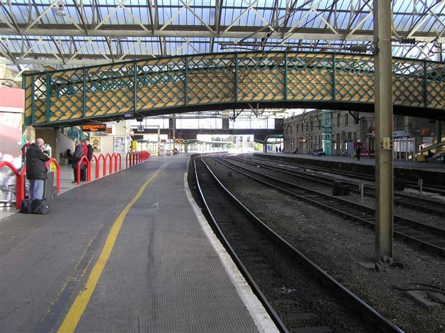 Platform, Carlisle Railway Station