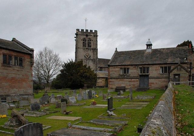 Nether Alderley Churchyard