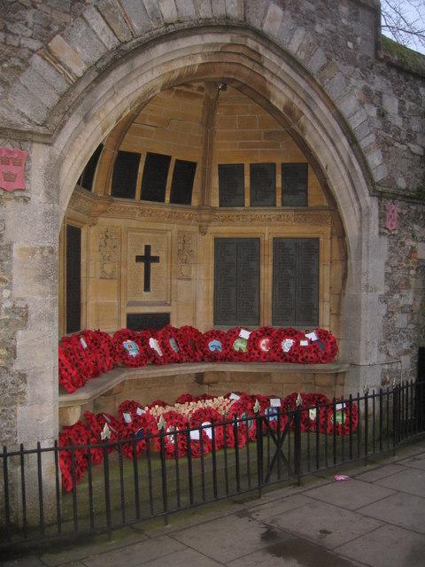 War Memorial - Ely High Street