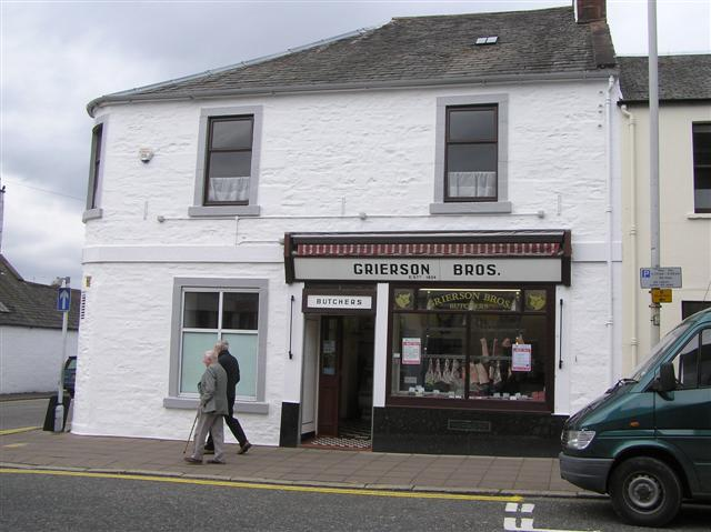 Grierson Bros, Butchers, Castle Douglas