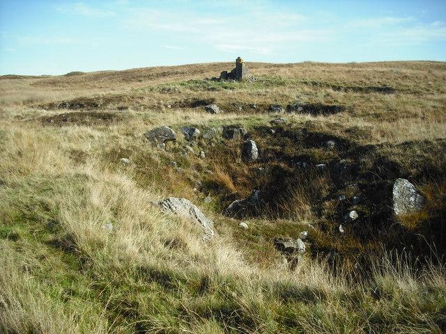 Ironstone or clay mine