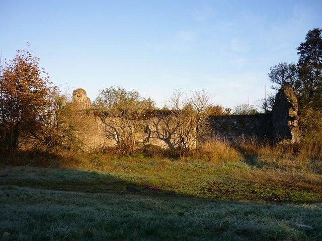 Saughs Farm (ruin) near Stepps Bypass
