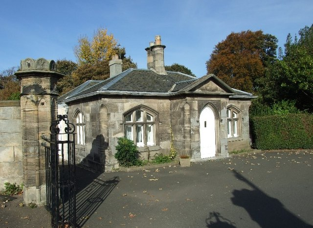 Liberton Golf Club gatehouse