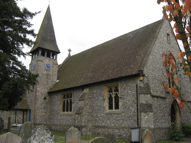 Emmanuel Church, Sidlow Bridge, Surrey
