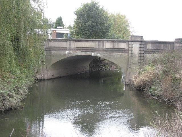 Bridge over the River Mole, Sidlow Bridge, Surrey