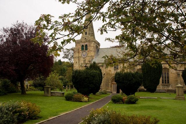 Autumn - St Lawrence's Church
