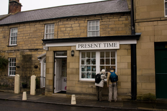 Warkworth Village Shop - Present Time