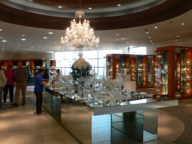 Sparkling Display Of Crystal At 169 Eirian Evans