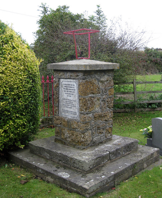 War memorial, Stainton-le-Vale