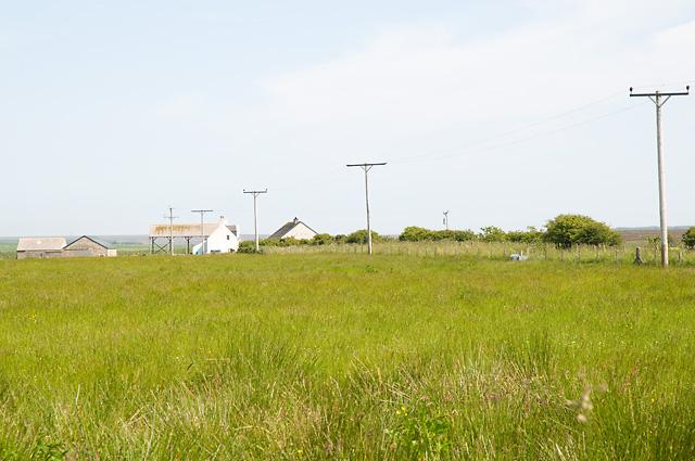 Farm Buildings near Lochend