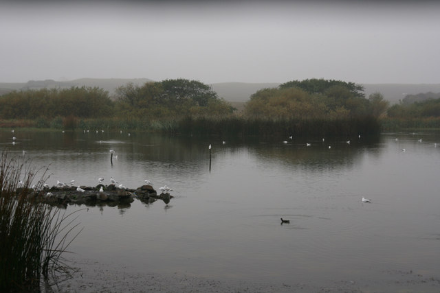 Low Newton Pond from the bird-hide