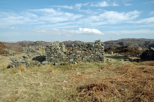 Ruins of Crofthouse at Pollan