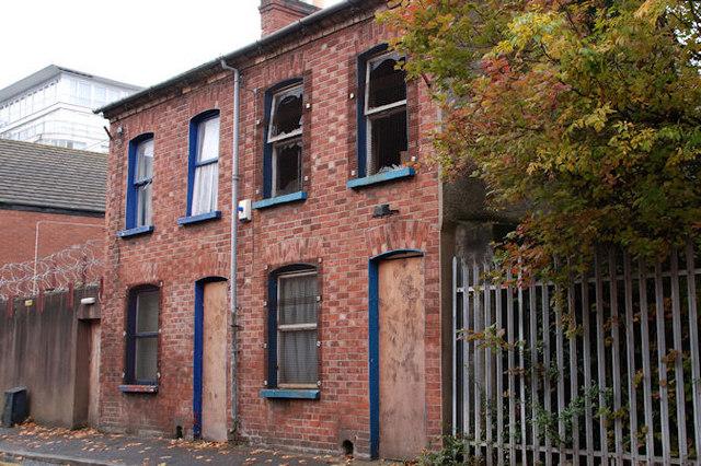 Vacant houses, Belfast